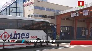 Болельщики на II Европейские игры приезжают на авто- и ж/д транспорте и даже приходят пешком