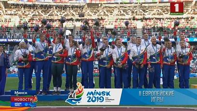 Четыре медали принес сборной Беларуси восьмой день II Европейских игр