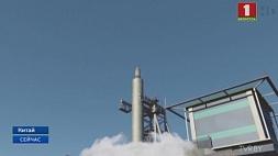 Китай впервые запустил ракету-носитель с поверхности воды Кітай упершыню запусціў ракету-носьбіт з паверхні вады