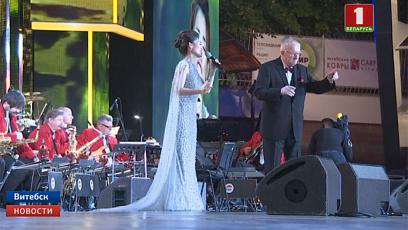 Первый конкурсный день прошел на фестивальной сцене Витебска