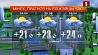 Прогноз погоды на 24 апреля Прагноз надвор'я на 24 красавiка