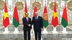 Церемония встречи Президента Вьетнама Чан Дай Куанга