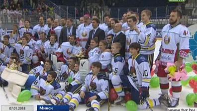 Команда Президента Беларуси стала победительницей 14-го Рождественского турнира по хоккею среди любителей