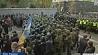 Киевская полиция усилила охрану здания Верховной рады Украины Кіеўская паліцыя ўзмацніла ахову будынка Вярхоўнай рады Украіны