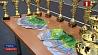 60 юных теннисистов из восьми стран собрал Гомель на турнир Европейской теннисной федерации 60 юных тэнісістаў з васьмі краін сабраў Гомель на турнір Еўрапейскай тэніснай федэрацыі