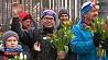 Цветочным забегом отметили 8 Марта в Москве