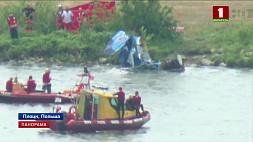 В Польше на авиашоу в реку рухнул самолет У Польшчы на авіяшоу ў раку ўпаў самалёт