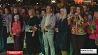В Гродно жители спели гимн на центральной Советской площади У Гродне жыхары праспявалі гімн на цэнтральнай Савецкай плошчы
