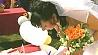 Девять пар из всех районов Минска сочетаются браком в день рождения города Дзевяць пар з усіх раёнаў Мінска возьмуць шлюб у дзень нараджэння горада