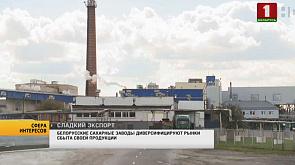 Белорусские сахарные заводы диверсифицируют рынки сбыта своей продукции