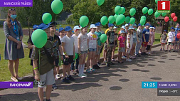 В белорусских детских лагерях и санаториях открылась первая смена