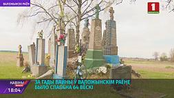 За годы войны в Воложинском районе было сожжено 64 деревни За гады вайны ў Валожынскім раёне было спалена 64 вёскі