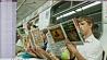 В метро приглашают стать книголюбом У метро запрашаюць стаць кнігалюбам