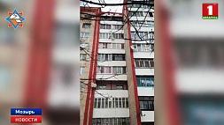 В Мозыре произошел взрыв в одной из квартир 9-этажного дома У Мазыры адбыўся выбух у адной з кватэр 9-павярховага дома
