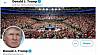 Twitter удалил видео Дональда Трампа, посвященное гибели Джорджа Флойда