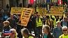 """Самая малочисленная акция субботних протестов """"желтых жилетов"""" Самая малаколькасная акцыя суботніх пратэстаў """"жоўтых камізэлек"""""""