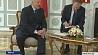 Александр Лукашенко встретился с вице-канцлером Зигмаром Габриэлем Аляксандр Лукашэнка сустрэўся з віцэ-канцлерам Зігмарам Габрыэлем Alexander Lukashenko meets with Vice-Chancellor Sigmar Gabriel