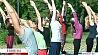 В Минске начали проводить бесплатные занятия йоги на свежем воздухе У Мінску пачалІ праводзіць бясплатныя заняткі ёгі на свежым паветры