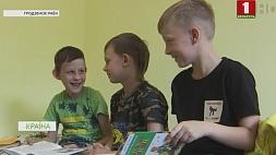 Летние детские лагеря приняли первых посетителей  Летнія дзіцячыя лагеры прынялі першых наведвальнікаў