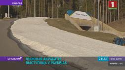 В Беларуси собрались 5 десятков лыжных акробатов из 9 стран У Беларусі сабраліся 5 дзясяткаў лыжных акрабатаў з 9 краін