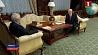 Президент Беларуси провел встречу с послом России Прэзідэнт Беларусі правёў сустрэчу з паслом Расіі President of Belarus meets with Ambassador of Russia