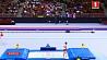 В Баку проходит этап Кубка мира по прыжкам на батуте и тамблингу У Баку праходзіць этап Кубка свету па скачках на батуце і тамблінгу