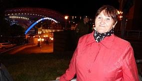 """Валентина Акулович: """"На Славянском базаре была первый раз в 2015 году. Получила много эмоций, позитива. Была насыщенная программа. Никогда не думала что сразу в один день увижу так много любимых исполнителей. Большое спасибо организаторам этого конкурса""""."""