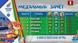Белорусы добавили в свою медальную копилку четыре награды