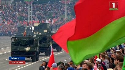 Масштабно, зрелищно и мощно Беларусь  отметила День Независимости