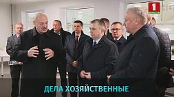 А. Лукашенко: Производства и экономика должны работать без остановки А. Лукашэнка: Вытворчасці і эканоміка павінны працаваць без перапынку A. Lukashenko: Production and economy should work non-stop