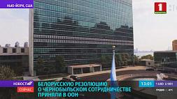 Белорусскую резолюцию о чернобыльском сотрудничестве приняли в ООН Беларускую рэзалюцыю аб чарнобыльскім супрацоўніцтве прынялі ў ААН