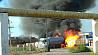 Взрыв на АГЗС в Казахстане: есть пострадавшие