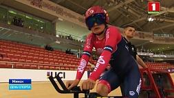 Шесть медалей выиграли белорусы на старте тестового турнира ко II Европейским играм по велоспорту на треке Шэсць медалёў выйгралі беларусы на старце тэставага турніру да II Еўрапейскіх гульняў па веласпорце на трэку