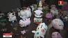 Минчанка собрала более 100 фигурок свинок из стекла, малахита и яшмы Мінчанка сабрала больш за 100 фігурак свінак са шкла, малахіту і яшмы