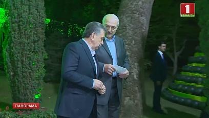 В Душанбе вместе с другими главами государств Александр Лукашенко принял участие в неформальном ужине