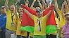 На берегу Ислочи сегодня проходит спортивный фестиваль Олимпия На беразе Іслачы сёння праходзіць спартыўны фестываль Алімпія