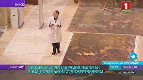 В Национальном художественном музее идет проверка и реставрация полотен из фонда русского искусства