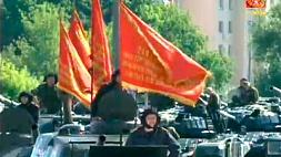 Военный парад, посвященный Дню Независимости Республики Беларусь.