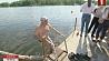 На Комсомольском озере открыли летний купальный сезон На Камсамольскім возеры адкрылі летні купальны сезон