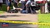 Группу пострадавших обнаружили полицейские в парке города Нью-Хейвен