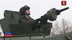 """Бронированные машины """"Кайман"""" поступили на вооружение  витебским десантникам Браніраваныя машыны """"Кайман"""" паступілі на ўзбраенне  віцебскім дэсантнікам"""