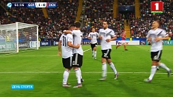 Дубль Марко Рихтера приносит победу Германии на старте молодежного чемпионата Европы по футболу Дубль Марка Рыхтэра прыносіць перамогу Германіі на старце моладзевага чэмпіянату Еўропы па футболе