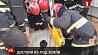 Спасатели в Минском районе вызволили мужчину, которого засыпало грунтом