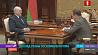 Александр Лукашенко принял с докладом главу Госкомвоенпрома