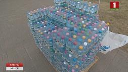Недалеко от станций метро сегодня бесплатно раздают воду Паблізу ад станцый метро сёння бясплатна раздаюць ваду