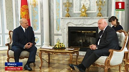 Александр Лукашенко встретился с Председателем ПА ОБСЕ Георгием Церетели Аляксандр Лукашэнка сустрэўся са Старшынёй ПА АБСЕ Георгіем Цэрэтэлі Alexander Lukashenko meets with OSCE PA Chairman George Tsereteli