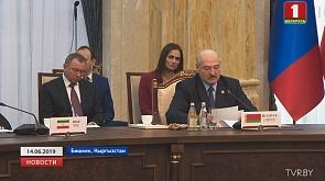 Выступая на саммите ШОС, Александр Лукашенко констатировал кризис в сфере глобальной безопасности  Выступаючы на саміце ШАС, Аляксандр Лукашэнка канстатаваў крызіс у сферы глабальнай бяспекі