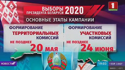 Президентские выборы 2020: началась подача заявлений на регистрацию инициативных групп