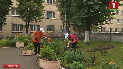 Свой вклад  в уборку урожая  вносят  студенческие отряды