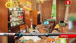 В Витебске оперативники раскрыли череду квартирных краж